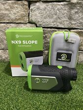 MINT Excellent Cond PRECISION PRO NX9 SLOPE Golf RANGEFINDER Magnetic Jolt