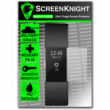 Screenknight Fitbit Charge 2/II-SCREEN PROTECTOR SCUDO militare-confezione da 1