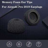 Memory Foam Replacement Ear Tips Bud For Airpods Pro 2020 Earplugs Headphones