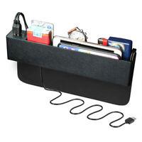 2x Multi Aufbewahrungsbox für Auto, Ablagefach Autositz Seitentaschen Organizer