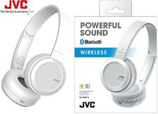 JVC HA-S40BT Blanco Plegable Inalámbrico Bluetooth Auriculares de refuerzo de graves/Nuevo