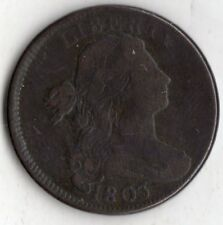 1803 DRAPED BUST LARGE CENT SMALL DATE LARGE FRACTION