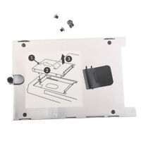 Hard Drive HDD Caddy Case Disk Tray Cover with Screws for HP EliteBook 2760P