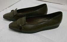 60er NOS Damenschuhe braun Ballerina Mattil Germany Gr. 35,5 Vintage shoes 60s