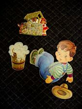 """4 PIECE Wall Decor-Vtg COLLECTIBLE- """"Jack & Jill""""-see all pics and information"""