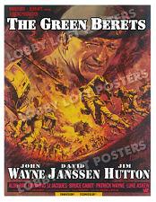 THE GREEN BERETS LOBBY CARD POSTER OS 1968 JOHN WAYNE DAVID JANSSEN