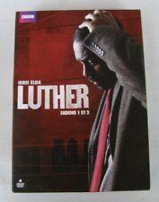 COFFRET 4DVD LUTHER - SAISON 1 ET 2 - Idris ELBA