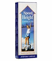 Ayurvedic Speed Height Capsule for Growth of Height Increase Tall Height- 60Tabs