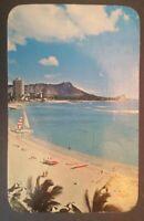 1960s,  Waikiki  beach scene Hawaii