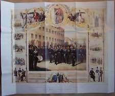 Kaiser Franz Grenadier Regiment 1854 Königl Preußische Armee Berlin Lithographie