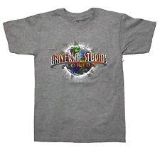 Universal Studios Florida T Shirt Men's Size Small Gray Short Sleeve NWT