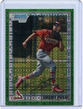 "2010 BOWMAN CHROME #BCP149 TOMMY PHAM ""GREEN XFRACTOR"" RC, CARDINALS, 082218"
