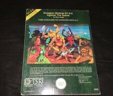 ADVANCED DUNGEONS & DRAGONS Against the Giants (Module G-1-2-3 9058) by TSR 1980