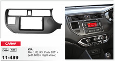 CARAV 11-489 car radio fascia plate for KIA Rio K3 Pride 2011-2015 Double DIN