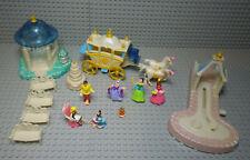 Figurines Of Set Cinderella Wedding Palace - Polly Pocket Vintage - BlueBird 95