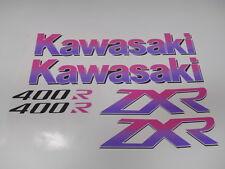 KAWASAKI ZXR400R ZXR400 ZXR 400 400R 1996 96 DECALS GRAPHICS FAIRINGS STICKERS