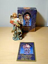 """Fontanini Roman Heirloom Nativity - Rosannah- In Box - 5"""" Scale 1996 Membership"""