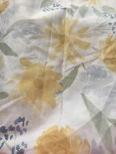 Threshold Yellow Blue Floral Shower Curtain