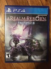 Final Fantasy XIV Online: A Realm Reborn (Sony PlayStation 4, 2014)USED