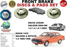 PER DACIA 1410 LOGAN BERLINA solidio ANTERIORE DISCHI FRENO 238mm Set +
