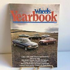 Wheels Yearbook 1981 Vintage Car Race Bathurst Le Mans Indy 500 Donald Campbell