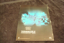TERMINATOR 2 JUDGMENT DAY 1991 Oscar ad morphs from floor, Arnold Schwarzenegger