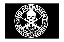 2nd amendment Homeland Security rifles Vinyl Decal Sticker Car Truck Window