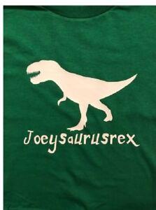 T-REX Dinosaur shirt T-REX toddler tshirt personalized T-rex t-shirt boys t rex