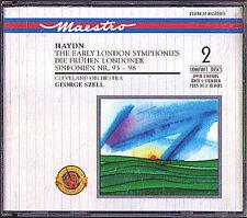 SZELL: HAYDN London Symphony 93 94 95 96 97 98 CBS 2CD George Sinfonien