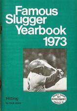1973 LOUISVILLE SLUGGER FAMOUS SLUGGER YRBK (DICK ALLEN CVR, R. CLEMENTE HOF +