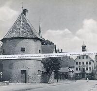 Kirchheim am Neckar - Rathaus - Mittleres Neckartal     um 1955  K 16-10