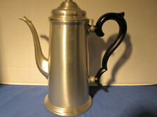 International Silver Co. Pewter 9 Cup Coffee Pot # 27801 LOT E