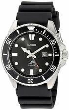 Casio  MDV106-1AV Watch 200M Duro Analog Urethane Diver Black Mens  * Japan new