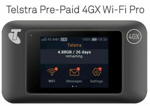 Telstra 4GX USB Huawei E5787 Touch Screen Broadband WiFi Modem Router