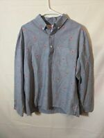 Chubbies The Nutter Shirt Large Mens Long Sleeve Front Pocket