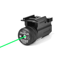 Hunting Green Dot Laser Sight Picatinny 20mm Rail QD Mount for Pistol Gun Rifle