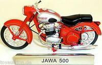 Jawa 500 Moto Rojo Rda 1:24 Atlas 7168114 Nuevo Emb. Orig. LA3 Μ