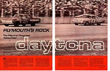 1964 DAYTONA 500 / RICHARD PETTY WINNER ~ ORIGINAL 8-PAGE ARTICLE / AD
