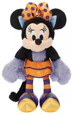 Disney Mickey Mouse Halloween 2019 Minnie Mouse Cat 13-Inch Plush