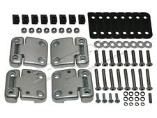 LAND ROVER DEFENDER 90 110 FRONT DOORS HINGES KIT & SS TORX HEAD BOLTS DA1070SS
