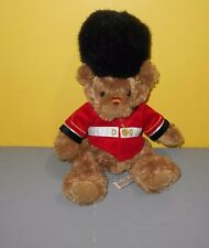 "11"" Keel Toys Queens Guard London UK Royal Bear Plush Stuffed Soft Toy Animal"