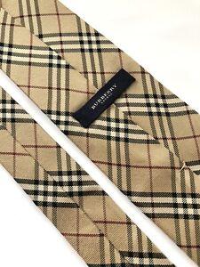 Burberry Cravatta, Tie Classic  100% Silk  Made in ITALY