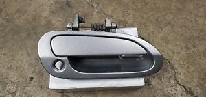 2000 - 2009 Honda s2000 right passenger door handle w/ bracket silver