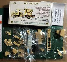 DOC MODELS DM72313 - LANCIA 3RO MILITARE CON CANNONE 90/53 - 1/72 RESIN KIT