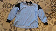 maillot de foot bleu ciel  vintage  gardien goal keeper  XL Shemsy