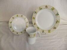 C4 Pottery Trade Winds Tableware - herbs & plants pattern - plates, mugs 7B2B