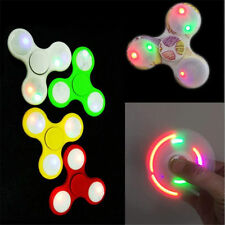 Shake Light Fidget Hand Spinner Colorful Lighting Fingertip Gyro For Autism ADHD