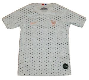 youth Small Nike French Football Federation (FFF) Dri-Fit short sleeve shirt