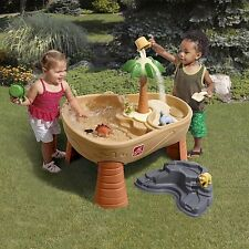 Sand And Water Table Outdoor Sandbox Activity Toy Play Set Kids Toddler Games