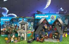 PLAYMOBIL HALLOWEEN  HAUNTED HOUSE #9312+SCOOBY-DOO ADVENTURE IN THE CEMETERY